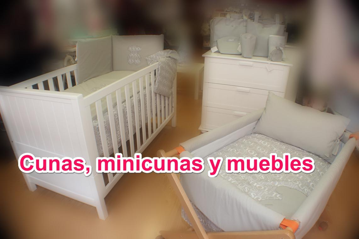 Cunas, minicunas y muebles
