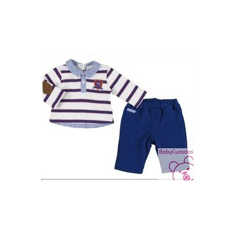 CONJ. PANTALON LARGO Y POLO MAYORAL