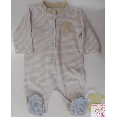 PELELE RISC-07 BABY TOUS beige