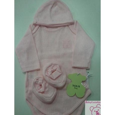 SET PRIMERA PUESTA SWEET-12 BABY TOUS rosa