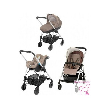 PACK STREETY PLUS WALNUT BROWN BEBE CONFORT