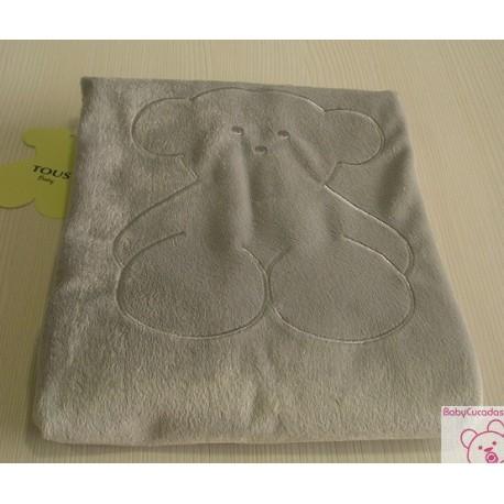MANTA PELO-05 BABY TOUS gris