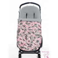 FUNDA SILLA INVIERNO CAMOUFLAGE GIRL WALKING MUM BY PASITO A PASITO