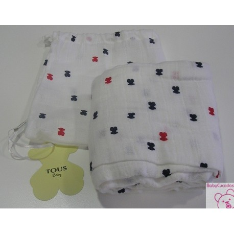 MUSELINA BABY TOUS BEAR-206