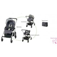 PACK STREETY SOFT GREY CERISE BEBE CONFORT