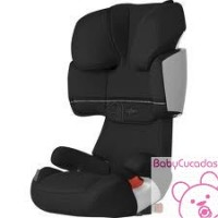 SILLA DE COCHE SOLUTION X-FIX RAVEN BURDEOS CYBEX