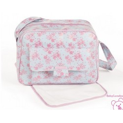 BOLSA MATERNIDAD ENGLISH ROSE PASITO A PASITO