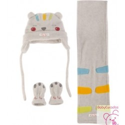 SET POLAR + MANOPLAS NIÑO SWEET LION TUC TUC 36106