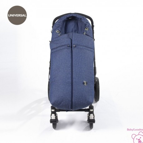 SACO SILLA UNIVERSAL INVIERNO DENIM BABY WALKING MUM