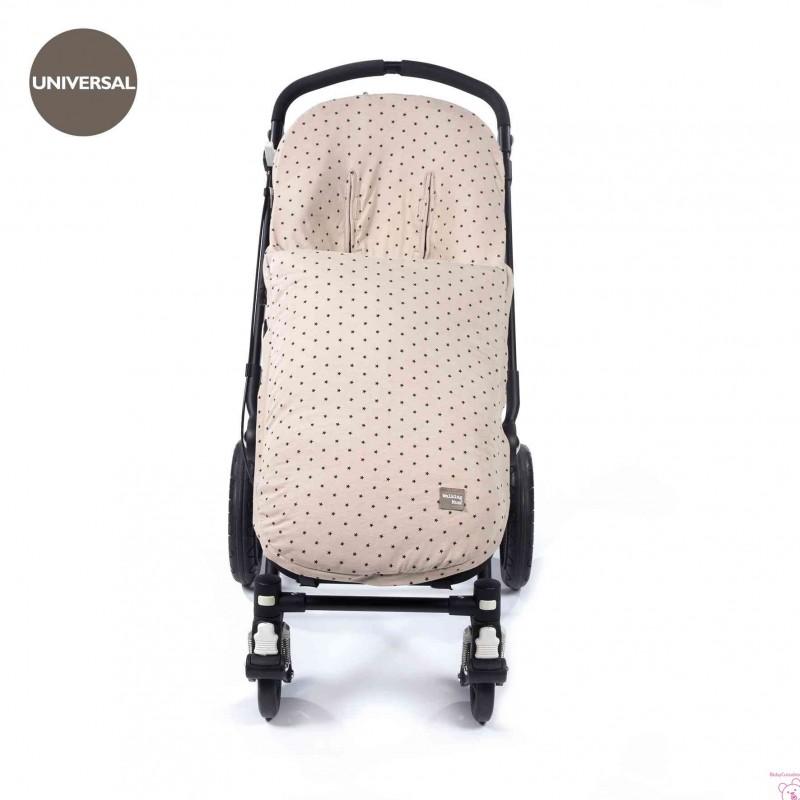 Colchoneta para silla de paseo color piedra Walking Mum Gaby