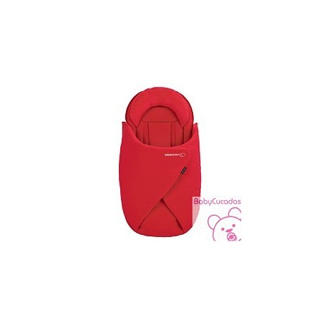 SACO BABYCOCOON INTENSE RED BEBECONFORT
