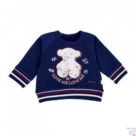 SUDADERA OSO LOVE ME CASUAL-706 BABY TOUS