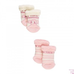 SET CALCETINES ANTIDESLIZANTES SWEET SOCKS-705 BABY TOUS