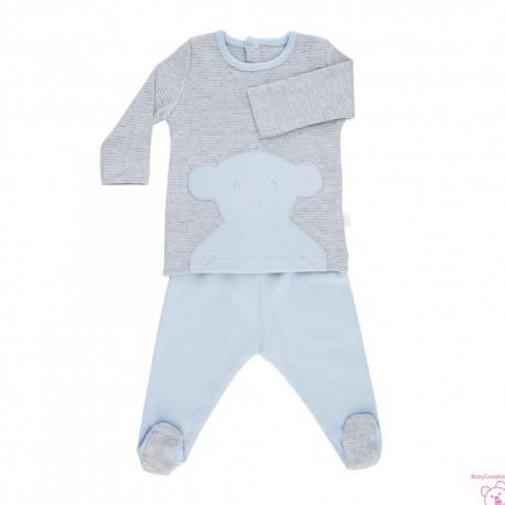 SET PRIMERO PRIMERA PUESTA BABY TOUS RISC-302 azul