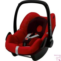 SILLA DE COCHE GRUPO CERO PEBBLE INTENSE RED BEBECONFORT