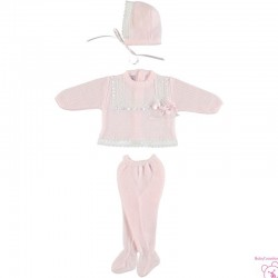 CONJUNTO BEBE JULIANA 4032