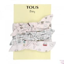 SET DIADEMAS ROLLER BABY TOUS