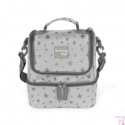 BOLSA TERMICA INSPIRATION GRIS WALKING MUM