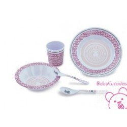 SET VAJILLA NEW FLEETING-1201 BABY TOUS