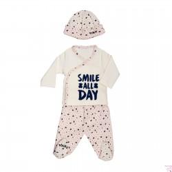 CONJUNTO RECIÉN NACIDO SMILE-1301 BABY TOUS