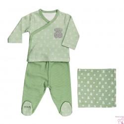 CONJUNTO RECIÉN NACIDO MPOINTS-1301 BABY TOUS