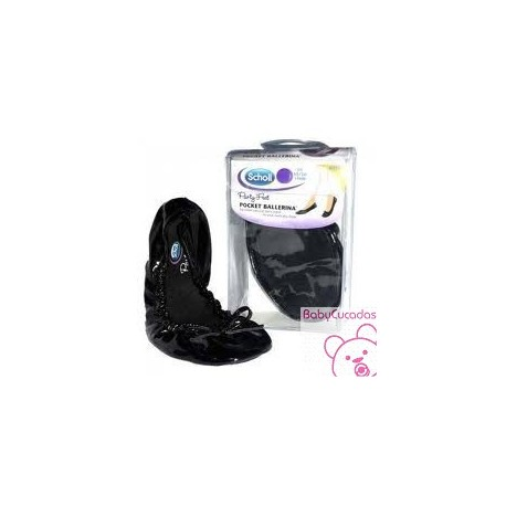 PARTY-FEET POCKET BALLERINA DR SCHOLL