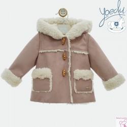 Abrigo bebé con capucha 3984