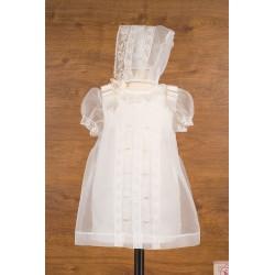 Vestido cristal bordado Mikamama 34195