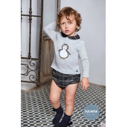 Conjunto niño pingüino Juliana J4073