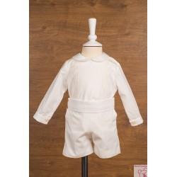 Conjunto ceremonia niño lino Misha Baby 93989